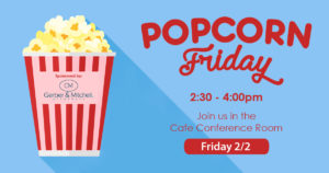 Popcorn Friday (Tenant ONLY Event)