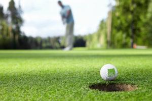 Dec memorial Golf Tournament house on 18 event