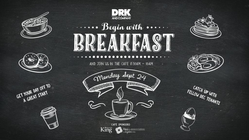 Breakfast at The DEC