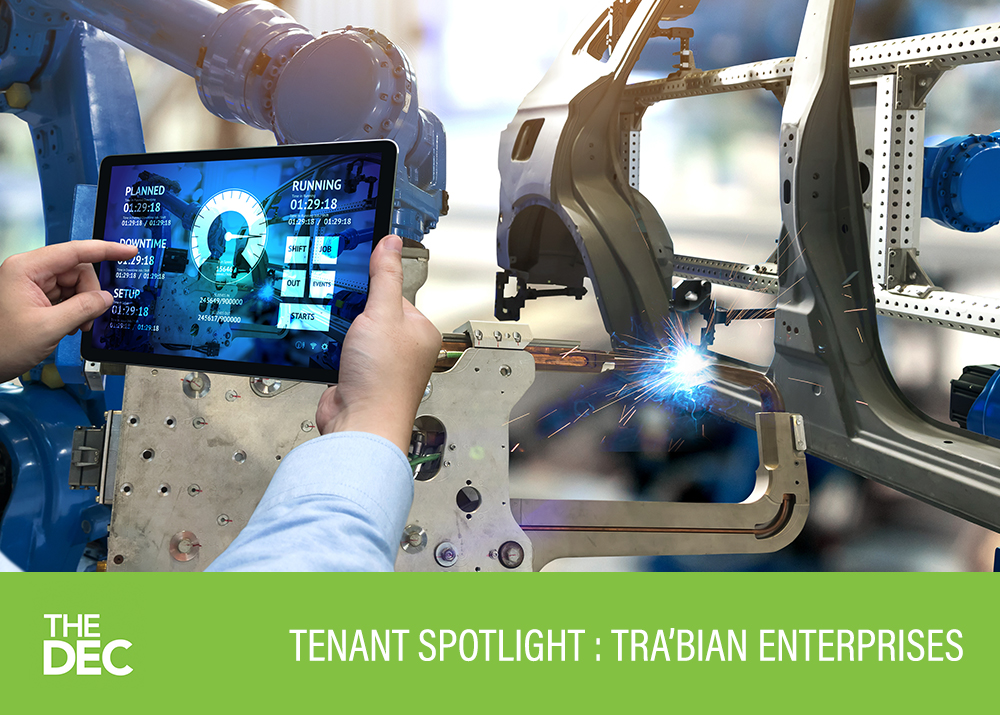 Tenant Spotlight: TJ Johnson of Tra'Bian Enterprises