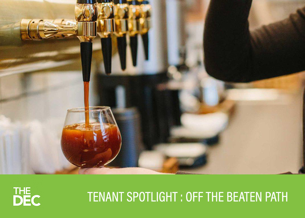Tenant Spotlight: Steve Johnson of Off The Beaten Path Coffee