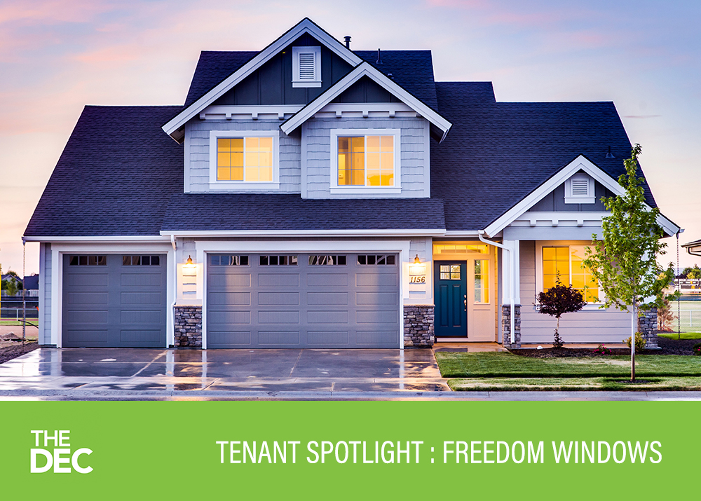 Tenant Spotlight: Ryan Brown of Freedoms Windows