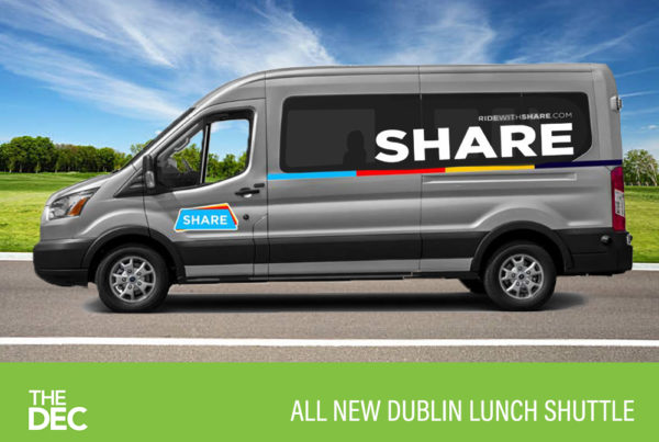 Dublin lunch shuttle