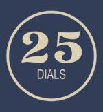 25 Dials
