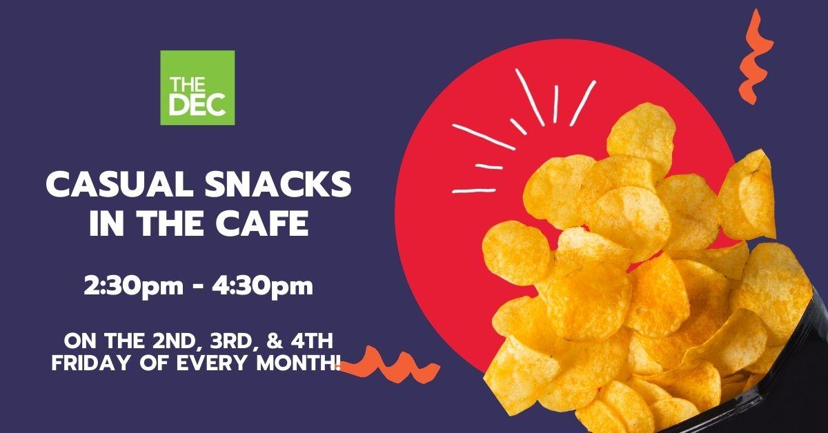 DEC Snacks In The Cafe